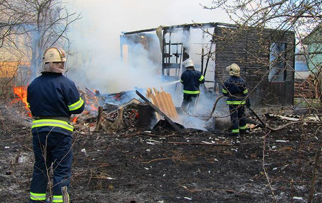 Фото: пожар (dsns.gov.ua)