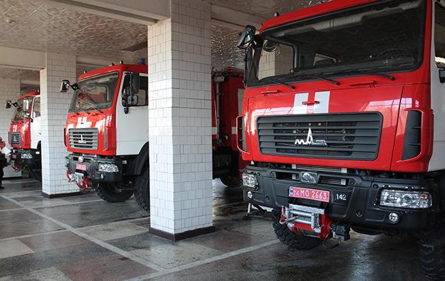 Фото: автомобили пожарной службы ГСЧС Украины (dsns.gov.ua)