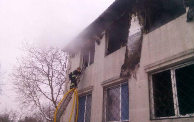 Сгоревший дом престарелых в Харькове не был официально зарегистрирован