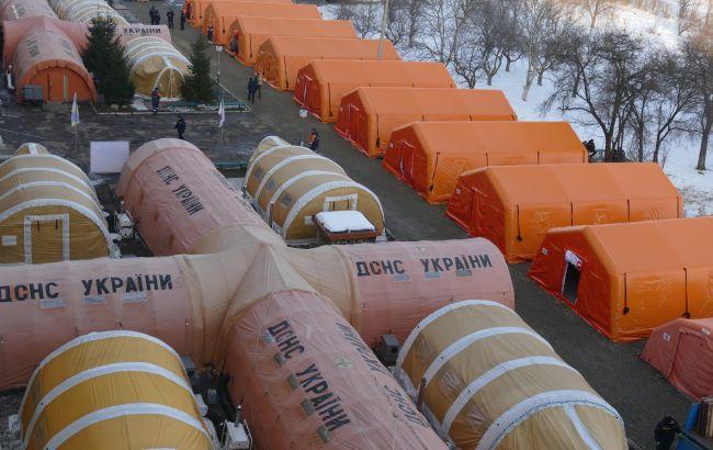 Мобільний COVID-госпіталь з Івано-Франківської області можуть перевезти до Києва