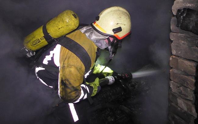 Фото: ликвидация пожара (dsns.gov.ua)