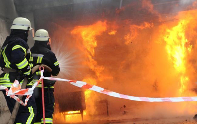 В детской больнице Тернополя произошел пожар