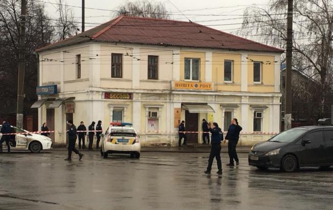 """Фото: відділення """"Укрпошти"""" в Харкові (twitter.com/LeRenardGrande)"""
