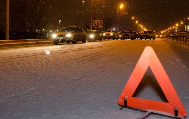 У Києві маршрутка збила двох пішоходів