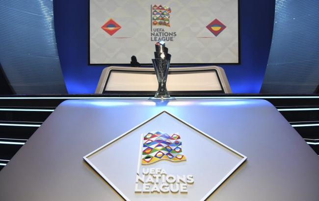 Визначилися пари суперників фінальної стадії Ліги націй
