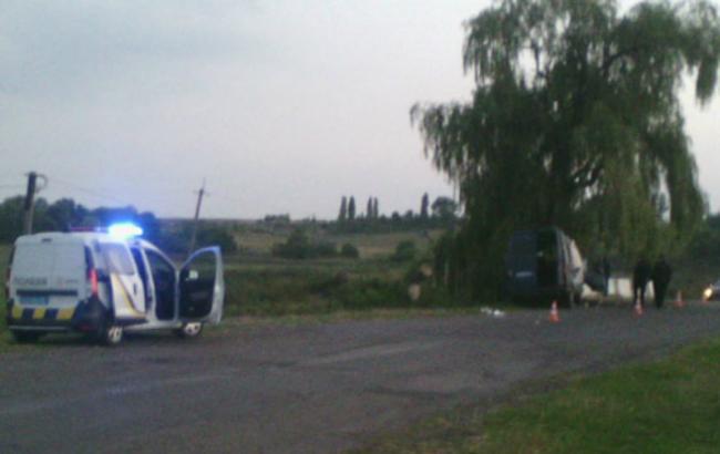 Фото: дорожно-транспортное происшествие на Волыни (сектор коммуникаций полиции Волынской области)