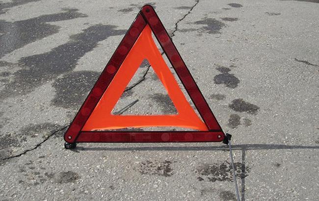 В Сумской области перевернулся пассажирский автобус, 10 пострадавших