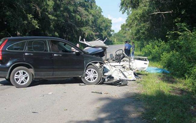 Фото: у Вінницькій області в ДТП загинули 3 жителя Козятинського району