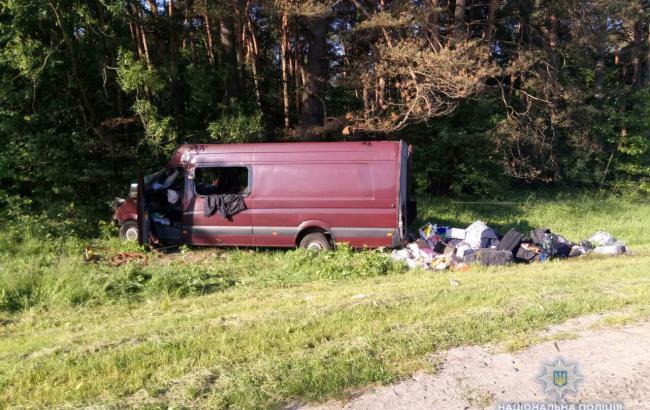 Фото: последствия аварии (lv.npu.gov.ua)