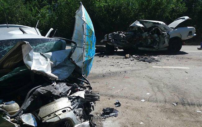 У Запорізькій області зіткнулися два автомобілі, троє загиблих