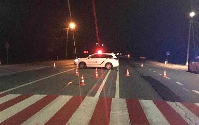 ВоЛьвовской области пьяный водитель сбил полицейского
