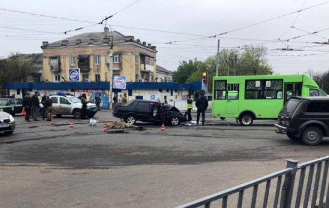 У Краматорську авто з військовими протаранило маршрутку, є загиблий