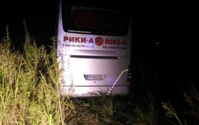 Фото: дорожно-транспортное происшествие произошло на международной трассе Е85 в Румынии (Jurnal de Vrancea)