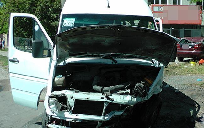 Фото: аварія у Запоріжжі (zp.npu.gov.ua)