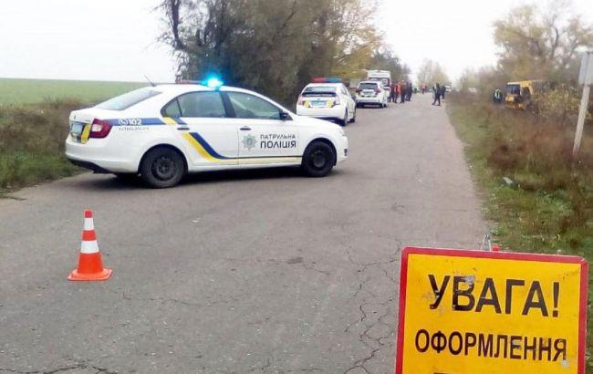 В Херсонской области перевернулся автобус, двое погибших и 10 пострадавших