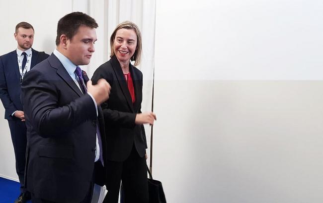 Могерини пригласила Климкина в Бюссель на заседание министров иностранных дел ЕС