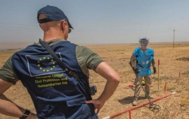 ЕС приветствует принятие ВР закона о разминировании Донбасса