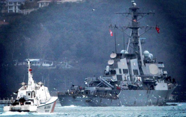 Фото: USS Carney (twitter.com/YorukIsik)