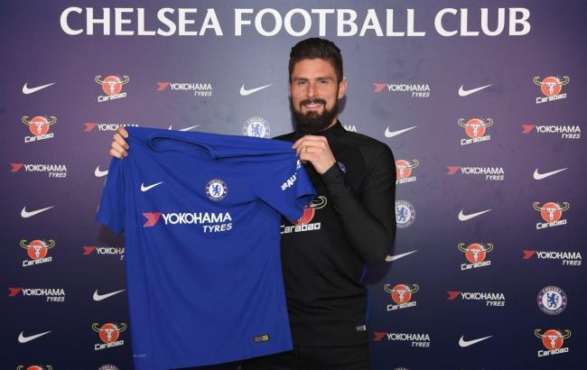 Фото: Оливье Жиру (twitter.com/ChelseaFC)
