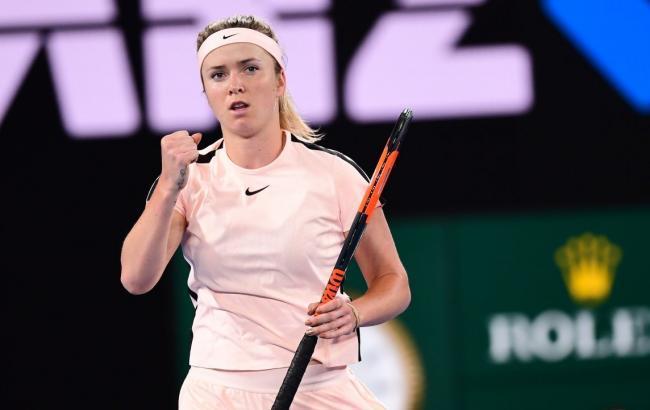 Свитолина пробилась вполуфинал теннисного турнира вДубае