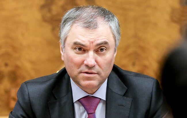 """У Держдумі анонсували """"широку зустріч"""" представників парламентів РФ і України"""