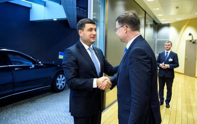 Гройсман назвал сроки получения второго транша ЕС