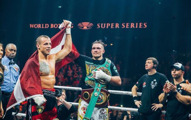 Усик повторил достижение Владимира Кличко в истории украинского бокса
