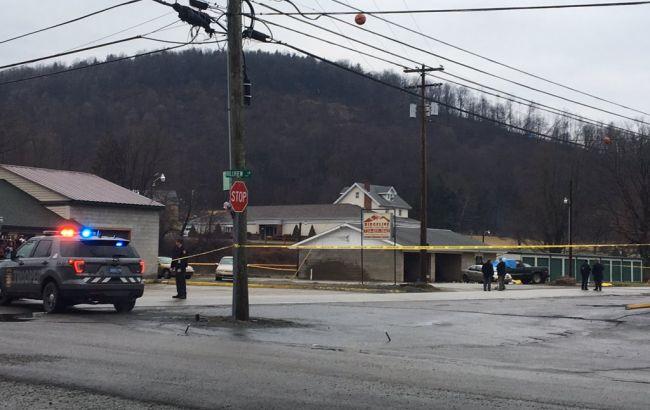 Фото: место стрельбы в Пенсильвании (twitter.com/WPXI_Lori)