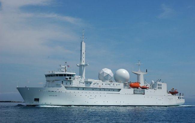 """Ще один корабель НАТО зайшов у Чорне море на час """"Сі Бриз-2019"""""""