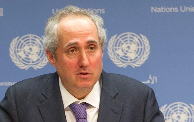 Фото: gредставитель генерального секретаря ООН Стефан Дюжаррик