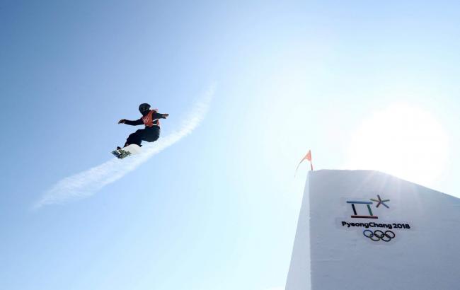 Фото: сноуборд (twitter.com/Olympics)