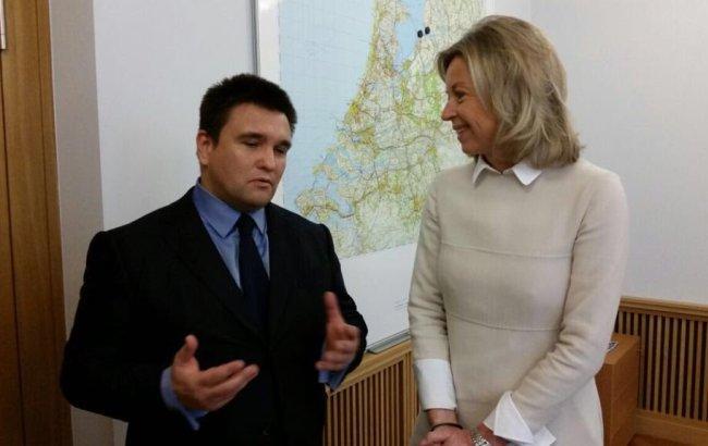 Фото: зустріч міністрів (twitter.com/mfa_ukraine)