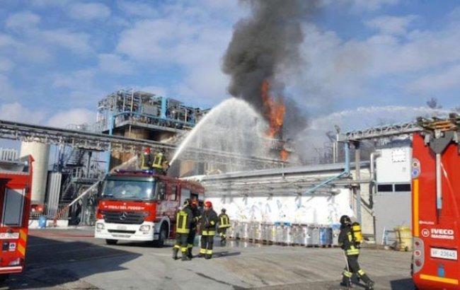 В Италии произошел взрыв на заводе химических отходов