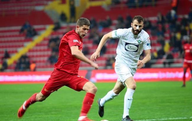 Кравец забил дебютный гол за «Кайсериспор»