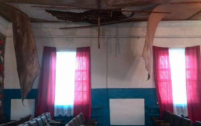 Научастке вДнепропетровской области обвалилась крыша— «Экстремальные» выборы