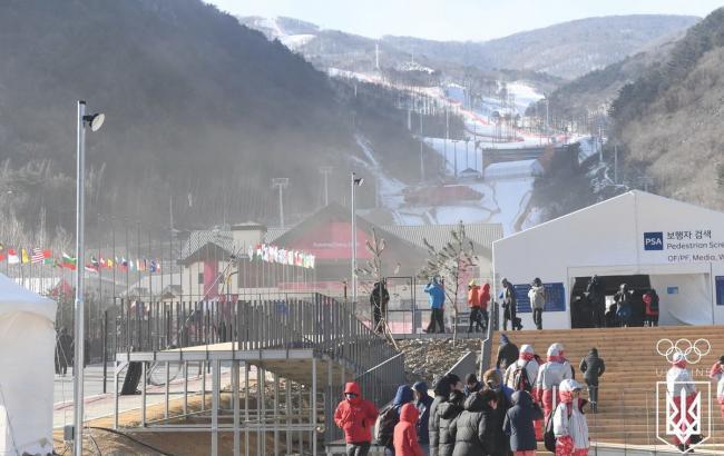 Соревнования по горнолыжному спорту на Олимпиаде перенесли из-за непогоды