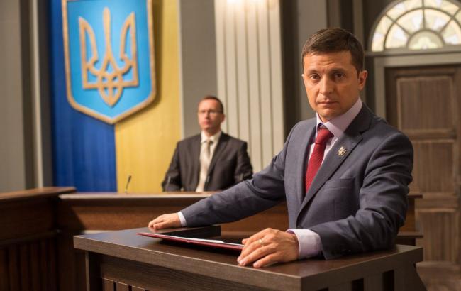 Зеленський заявив, що йде у президенти