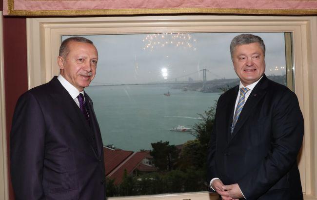 Порошенко провів зустріч з Ердоганом