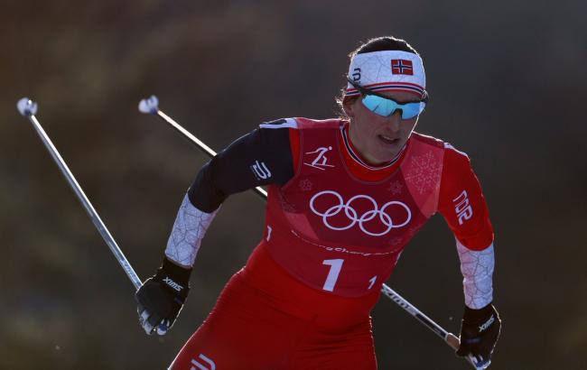 Фото: Марит Бьорген (twitter.com/Olympics)