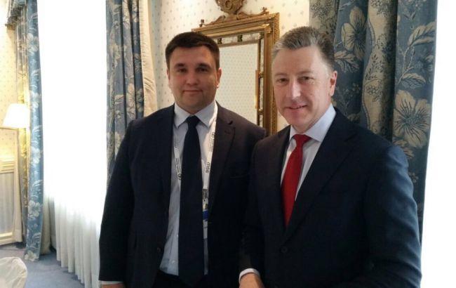 Климкин и Волкер обсудили ухудшение ситуации на Донбассе