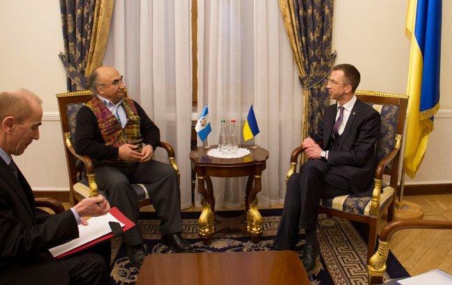 Госсекретарь Украины провел встречу с послами Гватемалы и Мавритании