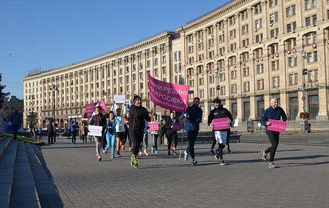 За 10 дней до 8-го Киевского марафона столичные бегуны предупредили водителей о перекрытии улиц