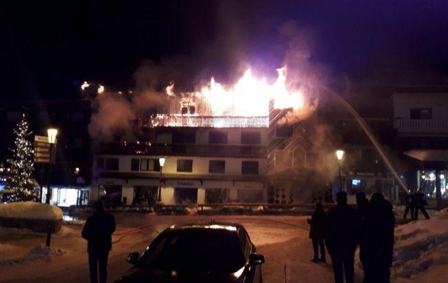 Українців немає серед постраждалих при пожежі в Куршевелі