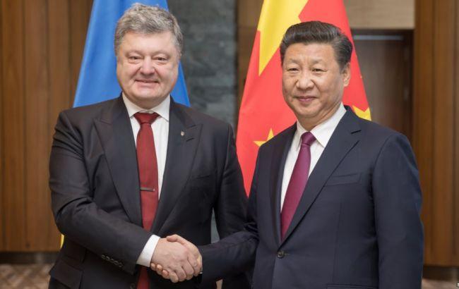 Порошенко ожидает усиления сотрудничества с Китаем после переизбрания главы КНР