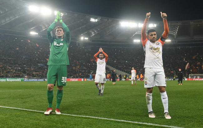 Рома — Шахтер 1-0: видео гола и обзор матча