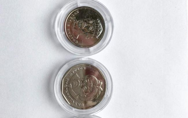 Нацбанк презентовал монеты номиналом 1, 2, 5 и 10 гривен