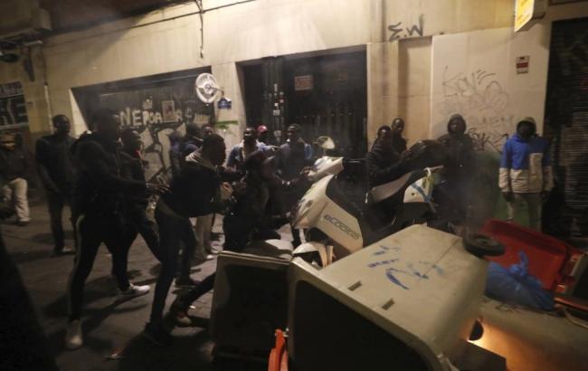 В Мадриде произошли массовые беспорядки, есть пострадавшие