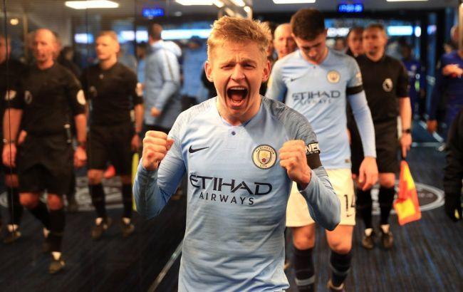 """Зинченко претендует на звание лучшего игрока месяца в """"Манчестер Сити"""""""