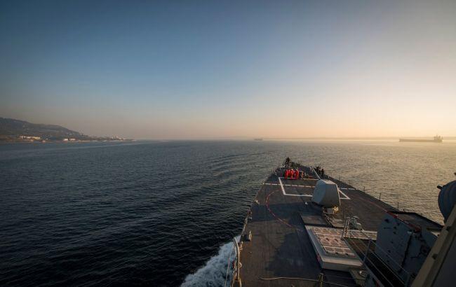 Американский эсминец направился в Черное море
