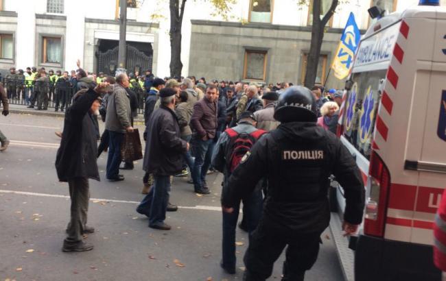 Сутички під Радою: у поліції заявили, що затриманих у зв'язку з інцидентом немає